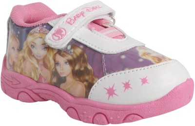 WINDY Girls Velcro Casual Boots(Pink)  available at flipkart for Rs.219