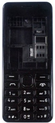 Smart Nokia Asha 206 Full Panel(Black)