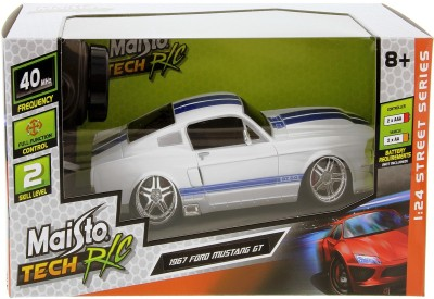 MAISTO 1967 FORD MUSTANG WHITE(White)  available at flipkart for Rs.1600