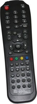 LRIPL Compatible SITI DIGITAL SET TOP BOX Remote Controller(Black)