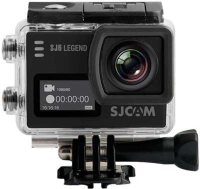 View SJCAM SJ6 LEGEND 2 LCD Touch Screen 2880�2160 4K Action Camera Novate. 4K Sports & Action Camera(Black)