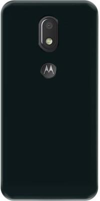 Deltakart Back Cover for Motorola Moto E3 Power(Black, Grip Case, Silicon)