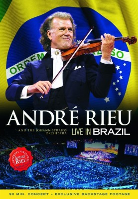 LIVE IN BRAZIL ANDRE RIEU DVD Standard Edition English   ANDRE RIEU Music, Movies   Posters