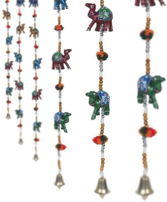 Pik Oops Pik Oops Handcraft Rajasthani Camel Door hanging - set of 2 Showpiece  -  10 cm(Plastic, Multicolor)  available at flipkart for Rs.212