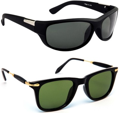2d73ceeb20 62% OFF on TheWhoop Wayfarer Sunglasses(Black