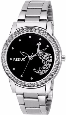 REDUX Peacock Black Dial Girls Analog Watch   For Girls REDUX Wrist Watches