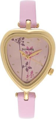 Sonata NF8142YL02  Analog Watch For Girls