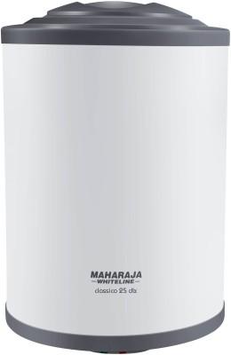 MAHARAJA WHITELINE 25 L Storage Water Geyser (Classico DLX, White and Blue)