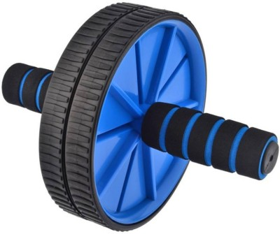 ATTRACTIVE TWO WHEEL ROLLER Ab Exerciser(Blue)  available at flipkart for Rs.275