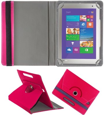 Fastway Book Cover for Asus TF103CG(Pink, Cases with Holder, Artificial Leather)