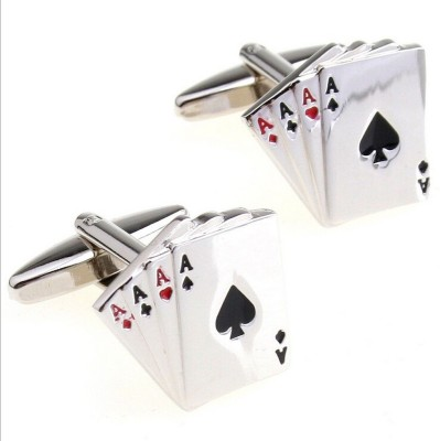 BLINGG Metal Cufflink(Silver) at flipkart