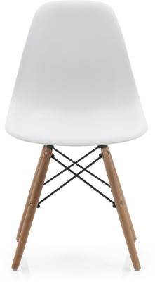 Urban Ladder DSW Solid Wood Dining Chair(Set of 1, Finish Color - White)