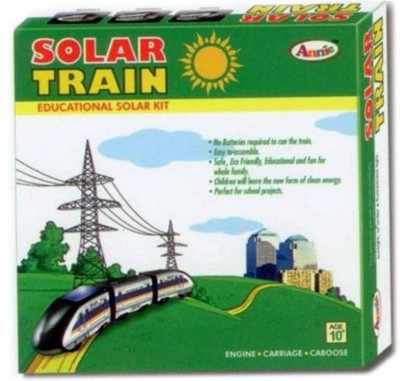 Goyal Annie DIY Solar Train Educational Kit (Multicolor)(Multicolor)  available at flipkart for Rs.499