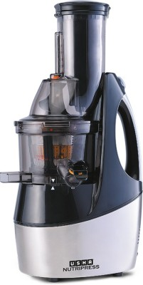 Usha CPJ 36F CPJ 362F 240 W Juicer(Black Steel, 2 Jars)