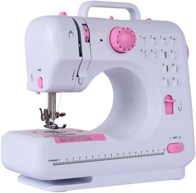 """Wonder World â""""¢ Fashion Plus 12 Stitch Two Speed Double Thread Lightweight Electric Sewing Machine available at Flipkart for Rs.5999"""