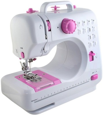 Wonder World ® Professional 12 Stitch Full Featured Multi functional Portable,2 speed Control   Double Thread Electric Sewing Machine  Built in S available at Flipkart for Rs.6999