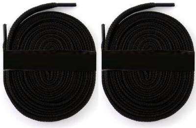 Fashion Gateway 36 Inch Sports Shoe Cotton SL01 Shoe Lace(Black Set of 2)  available at flipkart for Rs.169
