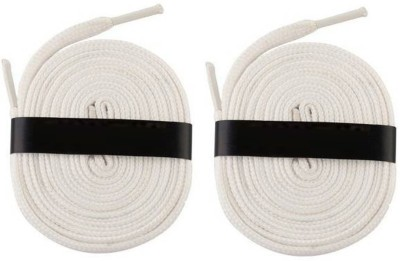 Fashion Gateway 36 Inch Sports Shoe Cotton SL13 Shoe Lace(White Set of 2)  available at flipkart for Rs.169