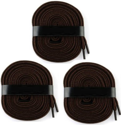 Fashion Gateway 36 Inch Sports Shoe Cotton SL07 Shoe Lace(Brown Set of 3)  available at flipkart for Rs.189