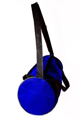 InkCraft Gym Bag 25Litres Leatherrite Gym Duffle Bag Dyffle Gym Bag(Blue, Sling Bag)  available at flipkart for Rs.227