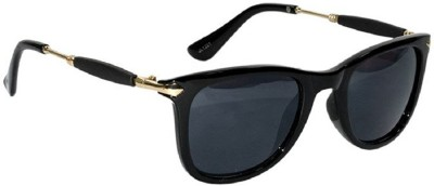 Deixels Rectangular Sunglasses(Black)