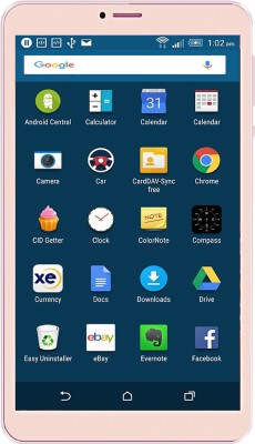 IKall N1 (1 GB+8 GB) 8 GB 8 inch with Wi-Fi+4G(Gold)   Tablet  (I Kall)