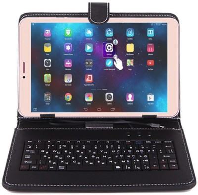 I Kall N1 With Keyboard 8 GB 8 inch with Wi-Fi+4G Tablet(Gold)   Tablet  (I Kall)