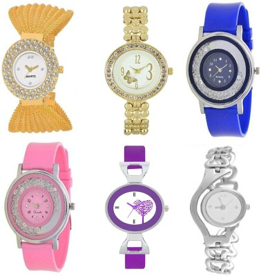 Keepkart SMART FASHION BEST RATE KING BEAUTIFUL SHINY LOOK BEST DEALS 124 For Woman And GIRLS Watch  - For Girls