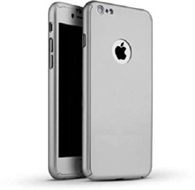 Zootkart Front & Back Case for Apple iPhone 5s(Silver, Shock Proof, Plastic)