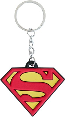 GCT Superhero Superman DC comics Character Red & Yellow Synthetic Rubber Design-C Key Chain  available at flipkart for Rs.136