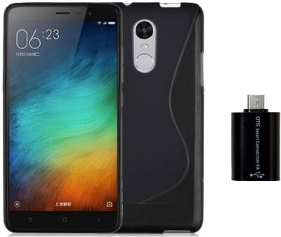 Mocell Case Accessory Combo for Xiaomi Redmi Note 4 Black