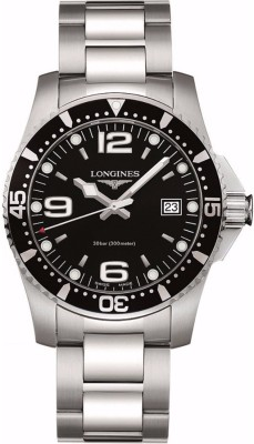 Longines L3.740.4.56.6 Hydroconquest Analog Watch For Men