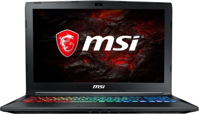MSI GP Core i7 7th Gen - (16 GB/1 TB HDD/128 GB SSD/Windows 10 Home/6 GB Graphics) GP62MVR 7RFX-1002IN Gaming Laptop(15.6 inch, Black, 2.2 kg)