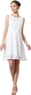 People Women A-line White Dress