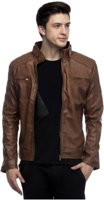 Bullseye Full Sleeve Solid Men Jacket at flipkart