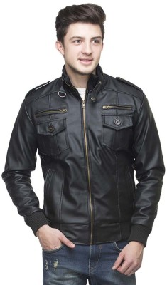 Bullseye Full Sleeve Solid Men's Jacket