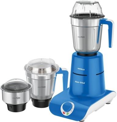 Havells Maxx grind 700 Mixer Grinder(Blue, 3 Jars)