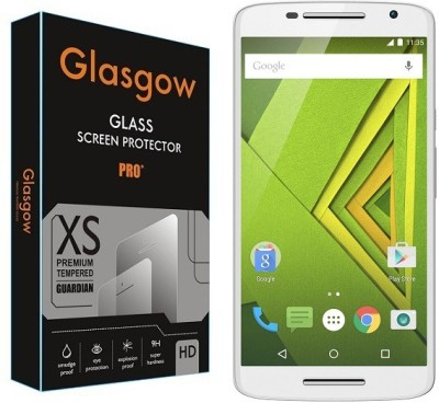 Glasgow Tempered Glass Guard for Motorola Moto X Play(Pack of 1)