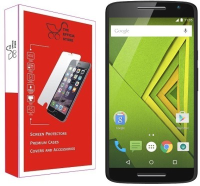 Efficia Tempered Glass Guard for Motorola Moto X Play(Pack of 1)