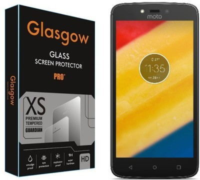 Glasgow Tempered Glass Guard for Motorola Moto C Plus(Pack of 1)