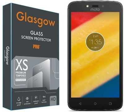Glasgow Tempered Glass Guard for Motorola Moto C Plus Pack of 1