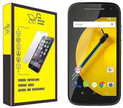 Efficia Tempered Glass Guard for Motorola Moto E (2nd Gen) 3G(Pack of 1)