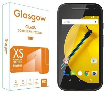Glasgow Tempered Glass Guard for Motorola Moto E (2nd Gen) 3G(Pack of 1)