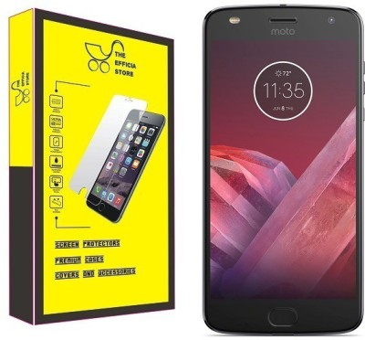 Efficia Tempered Glass Guard for Motorola Moto Z2 Play(Pack of 1)