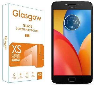 Glasgow Tempered Glass Guard for Motorola Moto E4 Plus(Pack of 1)