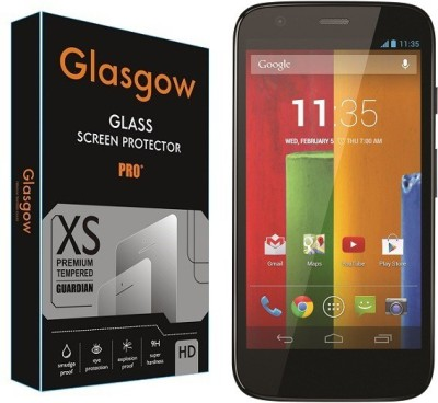 Glasgow Tempered Glass Guard for Motorola Moto G(Pack of 1)