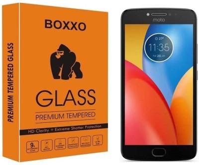 Boxxo Tempered Glass Guard for Motorola Moto E4 Plus(Pack of 1)