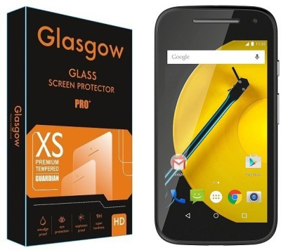 Glasgow Tempered Glass Guard for Motorola Moto E (2nd Gen) 3G(Pack of 1)
