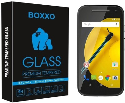 H.K.Impex Tempered Glass Guard for Motorola Moto E (2nd Gen) 4G(Pack of 1)