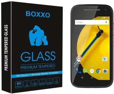 Boxxo Tempered Glass Guard for Motorola Moto E (2nd Gen) 3G(Pack of 1)